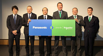 Panasonic and Schneider Electric partner to simplify energy management
