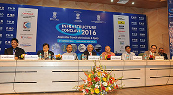 INFRASTRUCTURE CONCLAVE 2016 – ACCELERATED GROWTH WITH INCLUSION AND EQUITY