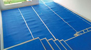 DURAfloorprotector for effective protective floor covering