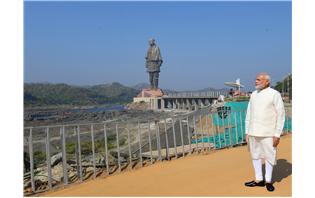 WorldÂ's tallest engineering marvel: 182-m Statue of Unity inaugurated