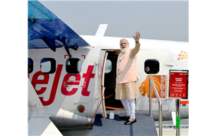 Sea Plane Service Launched to Statue of Unity from Ahmedabad