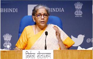Finance Minister Sitharaman Unveils Rs 2.65 Trillion Stimulus Under Aatmanirbhar Bharat 3.0