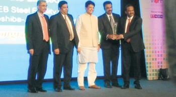 Kirby India Wins D&B Infra Award 2015
