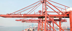 How can ports be put on the fast track to development?